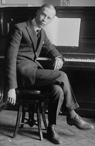 Sergei Prokofiev (courtesy Library of Congress)